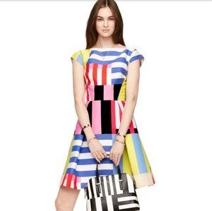 🌹 KATE SPADE- Fly A Kite DRESS Bow Cutout